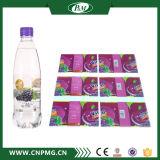 Étiquette en plastique de chemise de bouteille d'enveloppe de rétrécissement