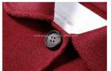 Cappotti di polvere di lana della donna rossa