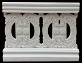 Rete fissa del balcone dei materiali da costruzione dell'arenaria delle decorazioni della Camera