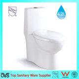 Toilet van WC van Amerika van de Kom van het Toilet van de badkamers het Standaard