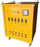 装置を扱う油送管の溶接熱