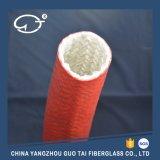 高温にガラス繊維のスリーブを付けること