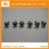 Tornillo de socket Hex de la venta ISO7380 M10*50 del acero inoxidable de la pista caliente del botón
