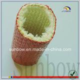Manicotto rivestito a prova di fuoco autoestinguente della vetroresina della gomma di silicone
