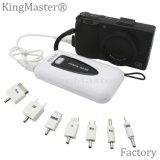 Kingmaster 8400mAh 큰 수용량 이동할 수 있는 힘 은행 휴대용 여행 충전기