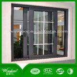 El precio de fábrica esmaltado doble todas las clases de ventana para el proyecto, pulveriza la ventana revestida de la aleación de aluminio
