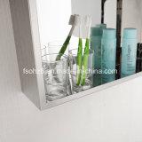 Большое сбывание в шкафе зеркала ванной комнаты мебели нержавеющей стали Индии (7022)