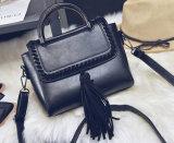 Die neues Seil eingesäumte Schulter-Form-Dame-Handtasche (BDMC137)