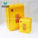 Предварительное изготовленный на заказ печатание коробки подарка упаковывая
