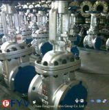Высокотемпературная высокая запорная заслонка Wc6 28inch 600lb стали сплава давления