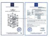 De Houten Raad van het aluminium met Haak voor Steiger