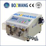 Découpage automatisé de fil et machine éliminante avec le fil engainé plat