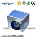 Abertura Js2205 do feixe da gravura Machine12mm do laser do Galvo para a máquina da marcação do laser