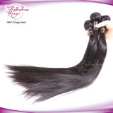 O cabelo brasileiro reto do Virgin dos produtos de cabelo de Fbl empacota a cor preta natural 1b