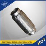 Pipe flexible d'échappement de qualité de Yangbo avec l'extrémité de soudure