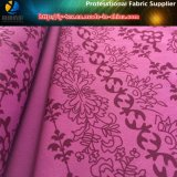 Tela del poliester, tela de estiramiento de 4 maneras, colocando la tela de la alineada del Spandex de la impresión (YH2026)