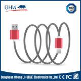 Câble de remplissage personnalisé par Gridding en métal beaucoup de couleurs 2.1A