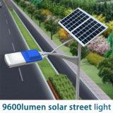 lumière solaire de grand dos de rue d'éclairage des matériaux 96W en aluminium neufs