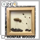 Frame rústico da foto do retrato da madeira contínua para a decoração Home