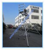 装飾のための安全なSGSの公認アルミニウム移動式足場