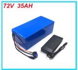 Pacchetto elettrico della batteria di litio della bicicletta della batteria della batteria 72V 35ah 2500W 18650 di Ebike con il caricatore e BMS