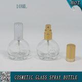 mini bottiglia di profumo di vetro trasparente vuota dello spruzzo 10ml