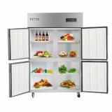 Recommened cuatro puertas dobla alto el refrigerador de la cocina de los compresores