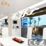 Luz pendiente decorativa cristalina de interior doble hermosa de la dimensión de una variable de onda LED