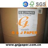 papel brillante y mate de la capa bilateral 105GSM de Couche