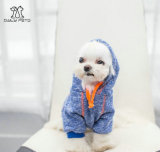 Hoodie di base variopinto per i vestiti di Hoodie dell'animale domestico del cane