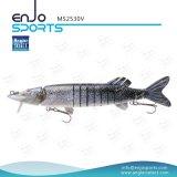 マルチ接合された採取のリアルな魅惑のSwimbaitの深く潜水できる釣り道具プラスチック釣魅惑(MS2530V)