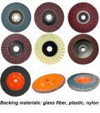 실리콘 탄화물 스테인리스를 위한 가는 플랩 디스크
