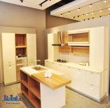 2016新しいMDFのベニヤの食器棚