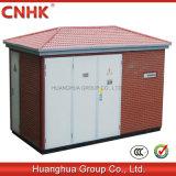 Cnhk Ybw aménageant la sous-station en parc