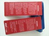 Escritura de la etiqueta de papel de la etiqueta de la caída de siete marcas de fábrica para la ropa
