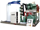 化学機器で使用される速い冷却速度の薄片の製氷機