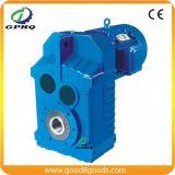 Caixa de engrenagens paralela helicoidal do motor do eixo