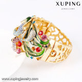 Boda colorida de lujo Banlge del Rhinestone de la manera del brazalete -68 en la flor Deisgn