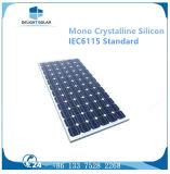 Certificat TUV à silicium cristallin Mono Crystalline Cell Cellulaire 200W Panneau solaire