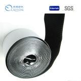 Doble gancho adhesivo lateral y lazo delgado cinta doble cara