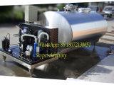 Kühlvorrichtung der Milch-5000LTR mit 2nos 6HP Abkühlung-Kompressor