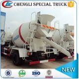 Foton Forland 4*2 141HP 시멘트 트럭 구체 믹서 2m3