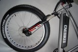중앙 드라이브 모터를 가진 고속 전기 뚱뚱한 타이어 자전거