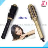 Curl de infrarrojos recta y Volumize multifuncional peine del pelo