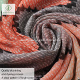 Viscose повелительница напечатанная нашивкой способа шали цветастой Шарф Фабрика