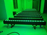 Innenhohe Leistung NENNWERT LED der wand-Unterlegscheibe-18PCS Rgabw 5in1
