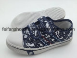 子供のキャンバスの注入は卸しで蹄鉄を打つ、からかう魔法テープ(FFHH-092607)が付いている履物の靴を