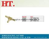 Montaggio d'ottone del T della sbavatura del tubo flessibile 1/4inch