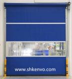 Belüftung-Gewebe-schnelle verantwortliche Rollen-Blendenverschluss-Tür für Luft-Dusche