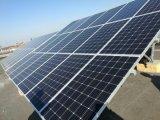 거리 LED 점화를 위한 300W 단청 태양 전지판